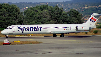 EC-FXI - McDonnell Douglas MD-83 - Spanair