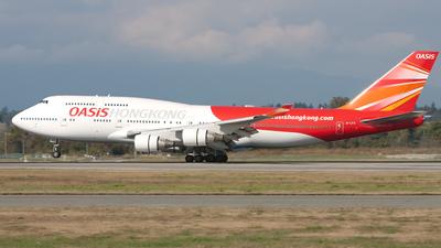 B-LFA - Boeing 747-412 - Oasis Hong Kong Airlines