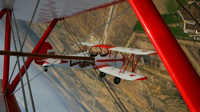 N806RB - Boeing A75N1 Stearman - Red Baron Pizza Squadron