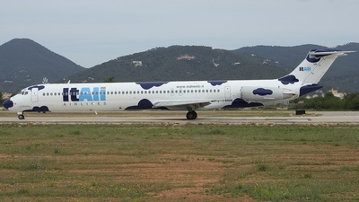 I-DAVA - McDonnell Douglas MD-82 - ItAli Airlines
