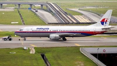 9M-MMZ - Boeing 737-4H6 - Malaysia Airlines