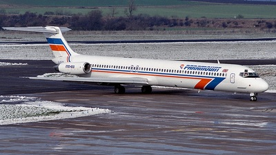 G-PATB - McDonnell Douglas MD-83 - Paramount Airways