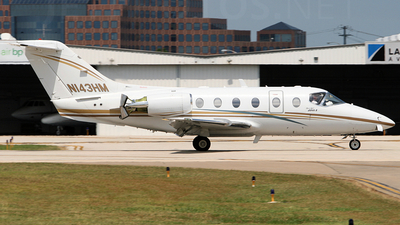 A picture of N143HM - Hawker Beechcraft 400XP - [RK205] - © Jonathan Morgan