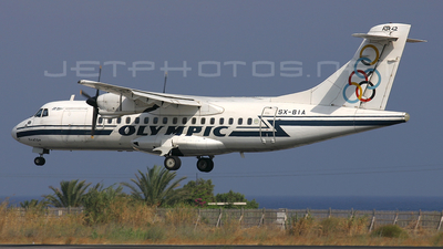 SX-BIA - ATR 42-300 - Olympic Airlines