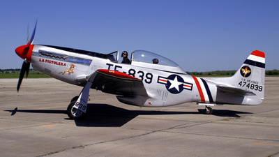 NL50FS - North American F-51D Mustang - Private