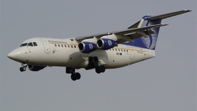 OO-DJX - British Aerospace Avro RJ85 - SN Brussels Airlines