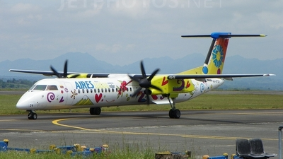 HK-4724 - Bombardier Dash 8-Q402 - Aires Colombia