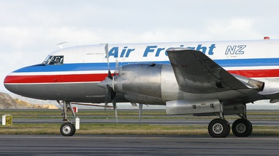 ZK-KFH - Convair CV-580(F)(SCD) - Air Freight NZ