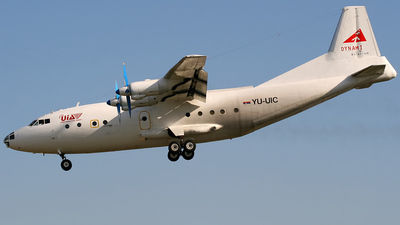 YU-UIC - Antonov An-12 - United International Airlines