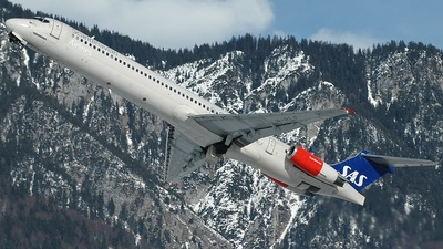 LN-RLF - McDonnell Douglas MD-82 - Scandinavian Airlines (SAS)