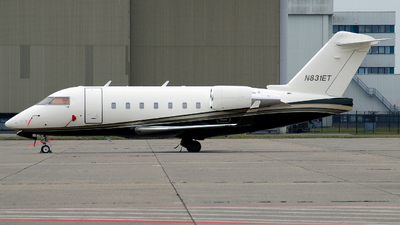 N831ET - Bombardier CL-600-2B16 Challenger 604 - Heritage Aviation