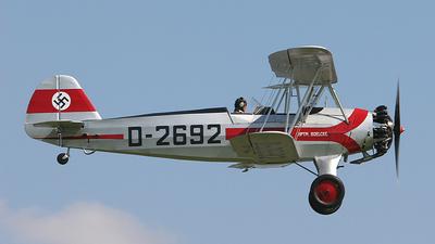 G-STIG - Focke-Wulf Fw44 Stieglitz - Private
