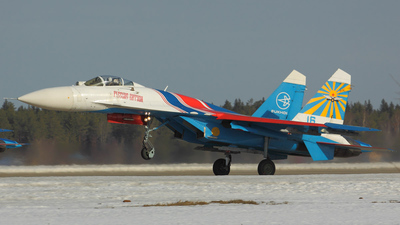 16 - Sukhoi Su-27 Flanker - Russia - Air Force