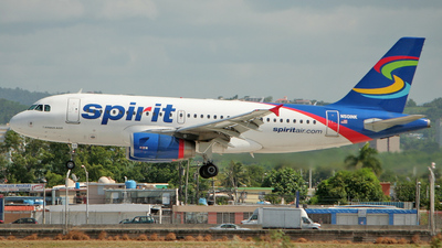 N501NK - Airbus A319-132 - Spirit Airlines
