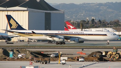 9V-SGB - Airbus A340-541 - Singapore Airlines
