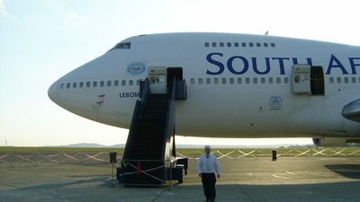 ZS-SAN - Boeing 747-244B - South African Airways