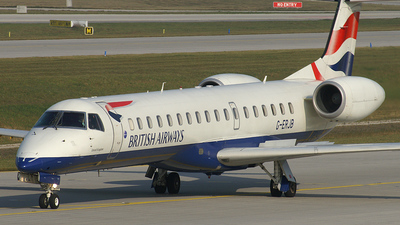 G-ERJB - Embraer ERJ-145EP - British Airways (CityFlyer Express)