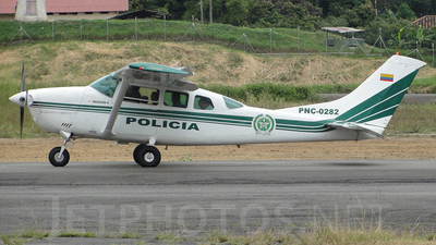 PNC-0282 - Cessna TU206G Turbo Stationair - Colombia - Police