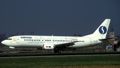 OO-SYC - Boeing 737-429 - Sabena