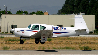 N803FM - Mooney M20 - Private