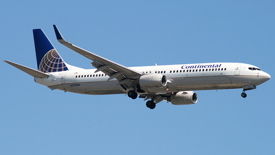 N37408 - Boeing 737-924 - Continental Airlines