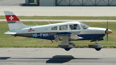 A picture of HBPMH - Piper PA28181 - [2890112] - © Pascal Schoch