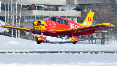 HB-PCV - Piper PA-28-140 Cherokee Cruiser - Aero Club - Montagnes Neuchâteloises