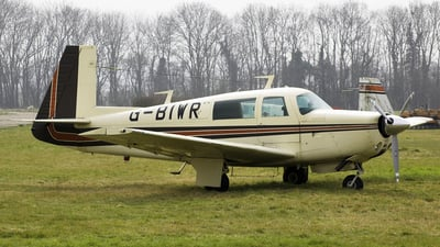 A picture of GBIWR - Mooney M20F - [221339] - © Oliver Holmes
