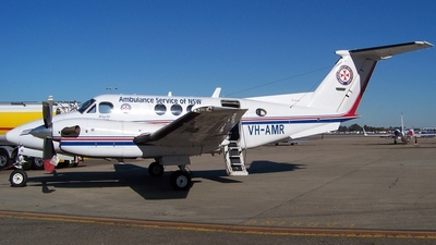 VH-AMR - Beechcraft B200 Super King Air - Ambulance Service of NSW