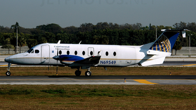 N69549 - Beech 1900D - Continental Connection (Gulfstream International Airlines)