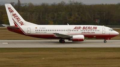 D-AGEA - Boeing 737-322 - Air Berlin (Germania)