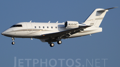 N384MP - Bombardier CL-600-2B16 Challenger 601-3A - Private