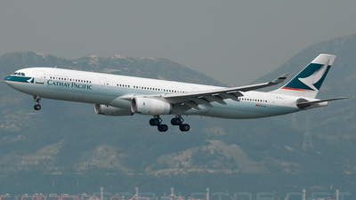 B-HLJ - Airbus A330-342 - Cathay Pacific Airways