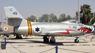 49 - Dassault MD.450 Ouragan - Israel - Air Force
