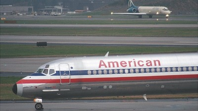 N480AA - McDonnell Douglas MD-82 - American Airlines