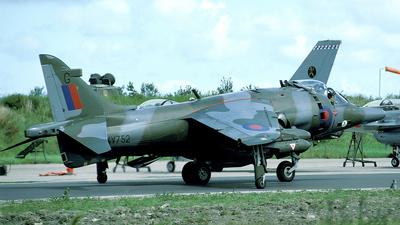 XV752 - British Aerospace GR.3 Harrier - United Kingdom - Royal Air Force (RAF)