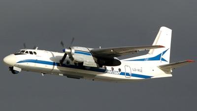 LZ-ASZ - Antonov An-24RV - Aviostart