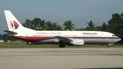 9M-MMB - Boeing 737-4H6 - Malaysia Airlines