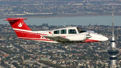 ZK-JED - Beechcraft 76 Duchess - Ardmore Flying School