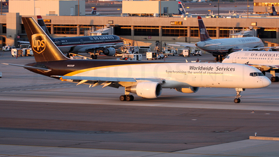 N435UP - Boeing 757-24A(PF) - United Parcel Service (UPS)
