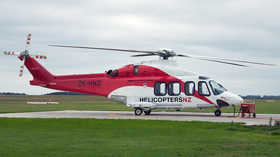 ZK-HNZ - Agusta-Westland AW-139 - Helicopters NZ