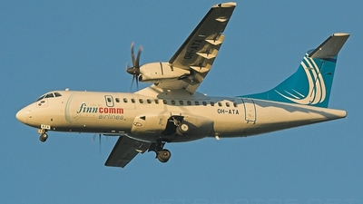OH-ATA - ATR 42-500 - Finncomm Airlines