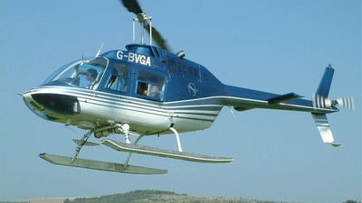 G-BVGA - Bell 206B JetRanger - Private
