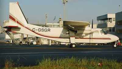 A picture of CGSGR - BrittenNorman BN2B21 Islander - [2107] - © Christian Villain / Aeronantes Spotters