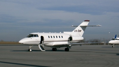 CS-DNN - Raytheon Hawker 800XP - NetJets Europe
