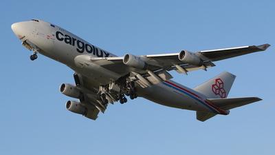 LX-NCV - Boeing 747-4R7F(SCD) - Cargolux Airlines International