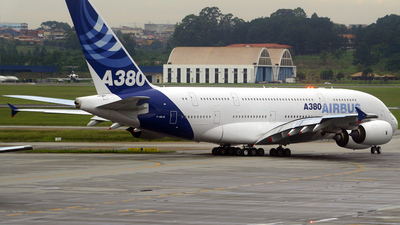 F-WWJB - Airbus A380-841 - Airbus Industrie