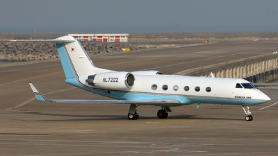 HL7222 - Gulfstream G-IV - Korean Air