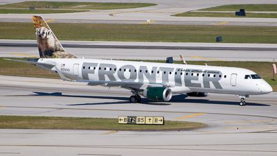 N174HQ - Embraer 190-100IGW - Frontier Airlines (Republic Airlines)
