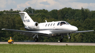 VP-CAD - Cessna 525 CitationJet 1 - Private